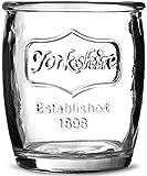 Yorkshire Medallion bicchierini da liquore %2F 100 ml, confezione da 6 Mini barattoli Shot Mason occhiali,-Bicchierini da Shot a forma di occhiali