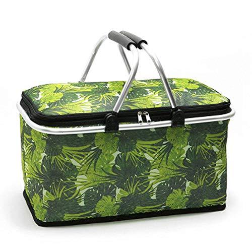 Picknicktaschen Chinesische Design Camping Lagerung Tasche Outdoor Camping Wandern Lagerung Tasche Tragbare Picknick Tasche Lebensmittel Lagerung Korb Handtaschen Mittagessen Box QualitäT Zuerst