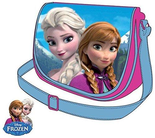 Disney Frozen Tasche Kindergarten Umhängetasche Anna & Elsa Schultertasche (Tasche Anna)