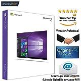 Windows 10 Pro 32/64 Bits Retail 100% Genuino con Garantía ESPAÑA