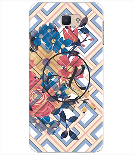 Inktree® Printed Designer Silicon Back Cover for Samsung Galaxy J5 - Alphabet K