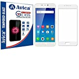 AVICA™ Full Edge To Edge Cover WHITE Tempered Glass Screen Protector For Gionee A1