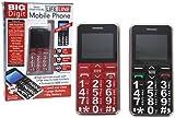 Lifeline 925045 Big Digit Button Mobile Phone, Senior Citizen-Friendly