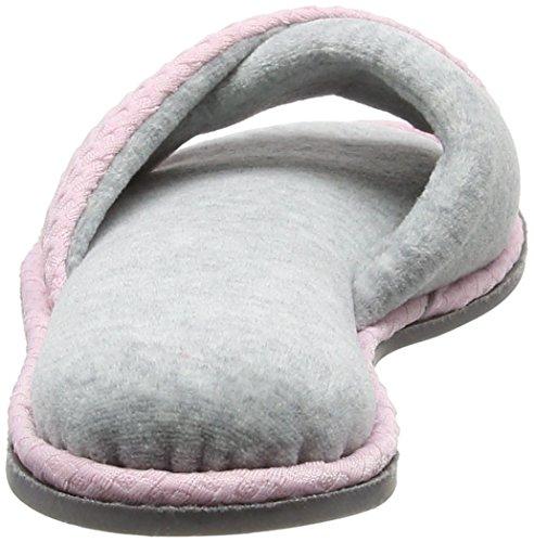 Dearfoams Slide, Chaussons Mules Femme Pink (Fresh Pink)