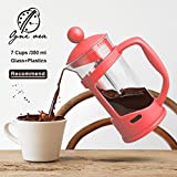 Best Grinder For French Press Coffees - Pinkdose® Red: Obr Portable Hand Pressure Machine Coffee Review