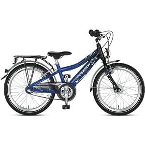 Vélo enfant Puky Crusader 24-7 Alu bleu/noir 2014 velo 24 pouces