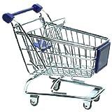 Deko Einkaufswagen Metall