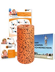 blackroll-orange Massagerolle Pro Bundle, 30 cm