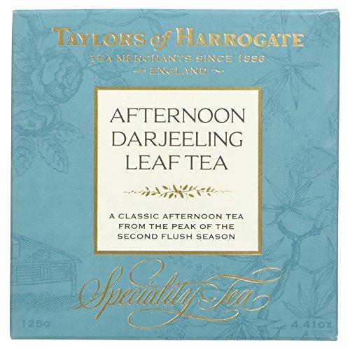 Taylors of Harrogate Afternoon Darjeeling Leaf Tea / Té Indiano del Darjeeling Sfuso in Foglia Allentata - 1 x 125 Gram