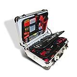 VINTEC VT 128 Werkzeugkoffer mit Profi Werkzeug - Teile im Alukoffer