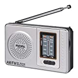 Mini Pocket Clear Sound Radio AM/FM a batteria con antenna telescopica Ricevitore mondiale per camminare Jogging Viaggiare