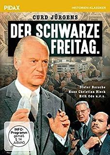Der schwarze Freitag / Spannender Film über den New Yorker Börsenkrach 1929 mit Curd Jürgens, Erik Ode und Dieter Borsche (Pida