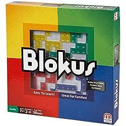 Mattel Games - Blokus, juego de estrategia para niños más de 5 años (BJV44)