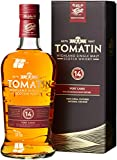 Tomatin 14 Years Old Port Wood Finish mit Geschenkverpackung Whisky (1 x 0.7 l)