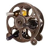Foster & Rye Adottivo & segale 2755 38,1 cm Ingranaggi e Ruote Wine Rack, Legno, Marrone