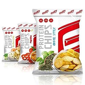 GOT7 Nutrition High Protein Chips, Greek Style 6x50g