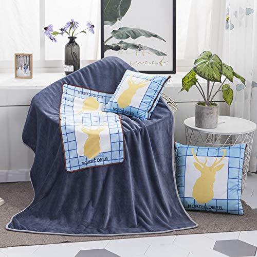 Almohada de algodón y cáñamo de doble propósito para regalos publicitarios,sofá plegable...