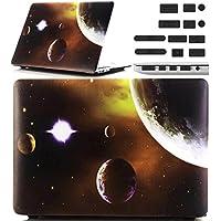 Macbook Retina 12 pollici Custodia Copertina - Ultra Slim Notebook Laptop Case Plastica Cover Rigida Duro Paraurti in Marmo Solido Modello Satellitare Caso per Apple The New Macbook 12