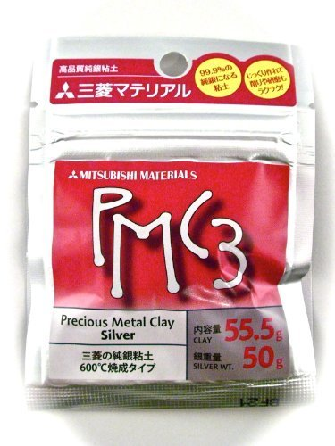 PMC3 sterling silver clay 50g (japan import)