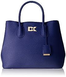 Diana Korr Women's Handbag (Blue) (DK08HBLU)