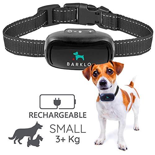 Barklo Mini Vibrationshalsband für kleine Hunde - Effektiven Antibell Halsband für Kleine und Mittlere Hunde ab 3kg und 12cm-48cm Halsumfang - Halsband Trainer Dog