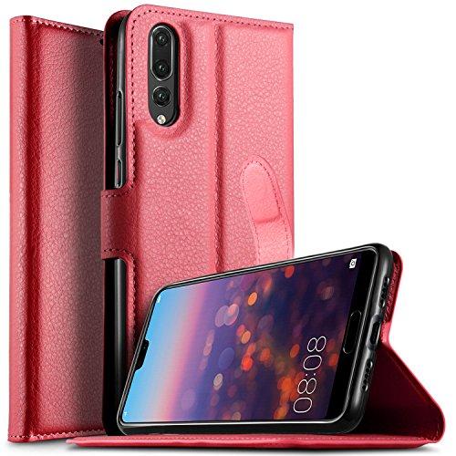 promo code c1fa3 9fd2e Huawei P20 Pro case, KuGi Huawei P20 Pro Leather Case, Premium PU ...