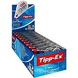 BIC Tipp-Ex - Cinta correctora (10 unidades, 5 mm x 5 m)