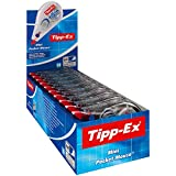 Tipp-Ex Mini Pocket Mouse Korrekturroller - Korrekturband 6 m x 5 mm - 10er Pack in praktischer Displaybox