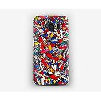 Funda para el Samsung S3, S4, S5, S6, S7, S8, A3, A5, A7, J3, Variar su Lego