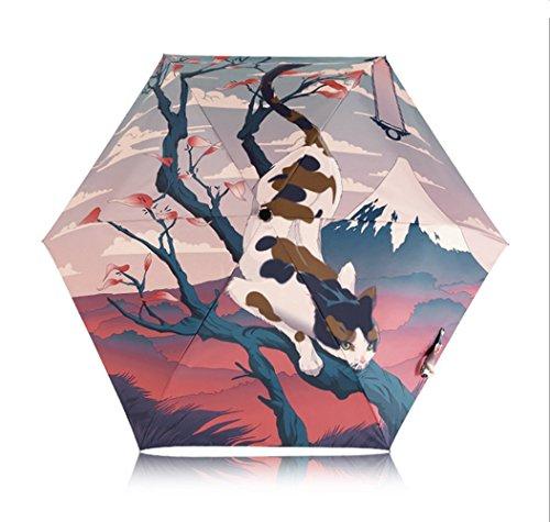 coolcool-3d-pintura-plegable-portatil-diseno-estilo-ligero-8-varillas-contra-viento-tela-impermeable