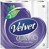 Velvet matelassé blanc hygiénique -165 feuilles par rouleau (9) -