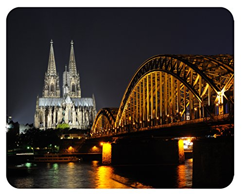 Preisvergleich Produktbild Mousepad Köln Dom Nacht