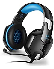Kotion Each: Over the Ear Headsets with Mic for Laptop