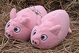 Schweinebärchen Lottas Kuscheltier klein, ca. 12 cm ohne Schlüßelanhänger