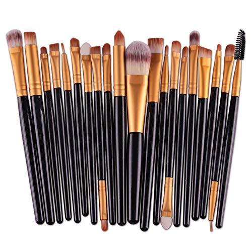 8Eninine 20 Unids Pinceles Maquillaje Graduado Color