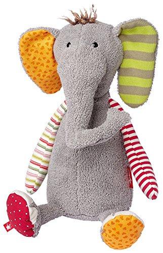 sigikid, Mädchen und Jungen, Stofftier Elefant Sweety, Mehrfarbig, 38372