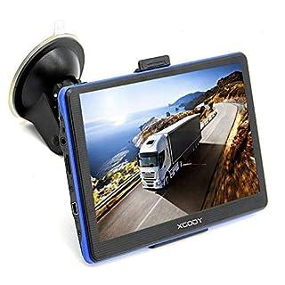 xgody 886Bluetooth Truck GPS Navigation System für KFZ 17,8cm Kapazitive Touchscreen GPS 8GB ROM Navigator mit Lifetime Maps Updates gesprochen Turn-by-Turn Richtungen