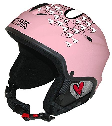 Sweet Years Helm R/M Helm Ski/Snowboard mit System Audio Decoder, Medium, Pink -
