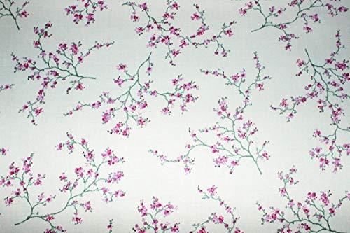 """Stretch-Baumwollstoff\""""Asia Fleur\"""" (10 cm)"""