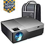 "VANKYO Performance V600 Native 1080P LED Projector, 5000 Lux HDMI Projector with 300""Display"