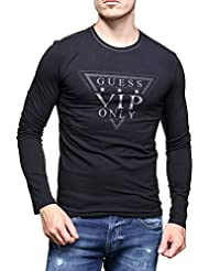 Tee-shirt Guess Exclusive Noir
