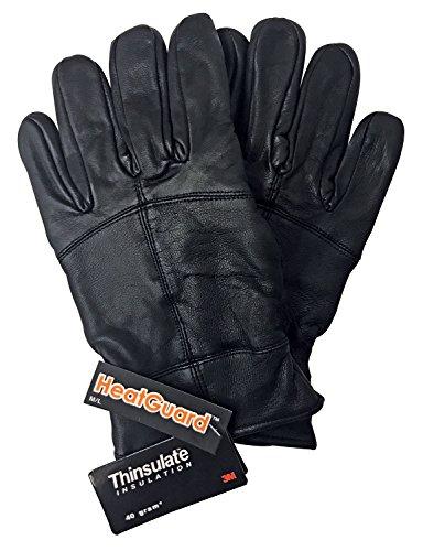 Thinsulate Hombre 3M 40 Gramos Elegantes Negro Calientes