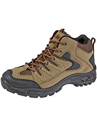 MENS BOYS HIKING BOOTS WALKING ANKLE TREKKING TRAIL TRAINERS SHOES UK 6 - 12