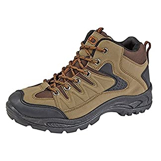 Mens Boys Hiking Boots Walking Ankle Trekking Trail Trainers Shoes UK 6-12 10
