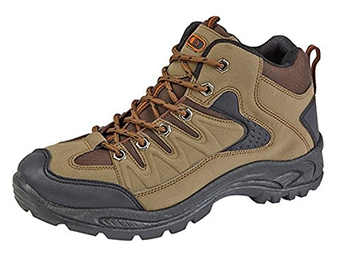Mens Boys Hiking Boots Walking Ankle Trekking Trail Trainers Shoes UK 6-12 1