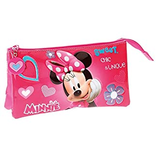 Disney Minnie Fabulous Neceser de Viaje, 22 cm, 1.32 Litros, Rosa