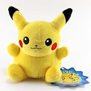 "Pokemon Center Officiel Peluche - 6"" Pikachu (Star Tag) (Japanese Import)"