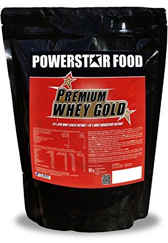 100% Premium Whey Protein (PREMIUM WHEY PROTEIN - 51% CFM Whey Isolat & 49% CFM Wheyprotein Konzentrat - SPITZEN GESCHMACK - PERFEKTE LÖSLICHKEIT - 100% instant - MADE IN GERMANY (Schoko-Nuss-Sahne, 850 g Beutel))