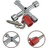 Universal 5in 1Triangle Utility Key Cross Zug Aufzug Schalter Schlüssel