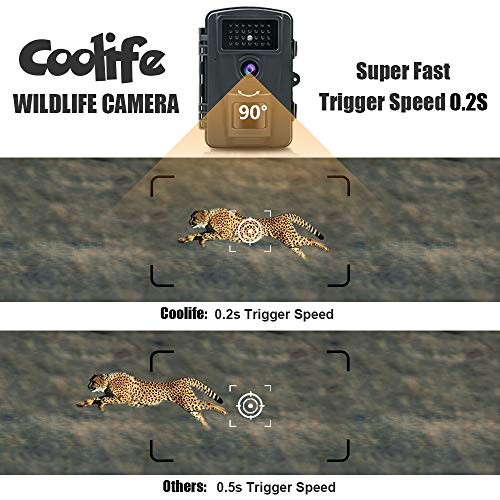 Zoom IMG-1 coolife fotocamera da caccia 12mp